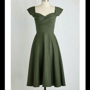 699c014be13a Stop Staring. Mad Men 50s Pinup Vintage Green Swing Dress Retro